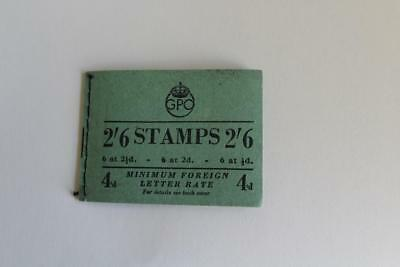 GB - KGVI Complete Stitched Booklet BD18 (88) Feb 1951 Cat £95