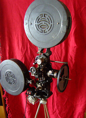 Vintage Silent 35Mm Film Cinema Movie Projector!  Made By Hahn Goertz