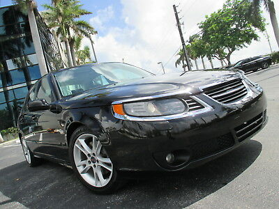 2006 Saab 9-5  UPER CLEAN SEDAN 4 CYL LEATHER SUNROOF WELL EQUIPPED NICE CAR