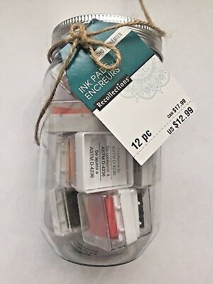 Recollections 12 Piece Ink Pad set.  NEW