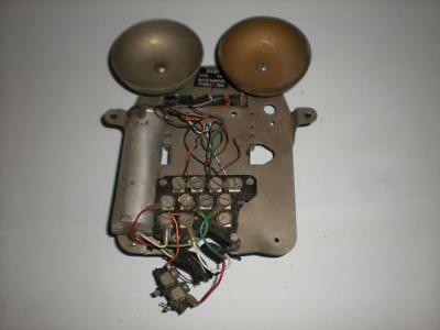 Vintage 1950s GPO 312F Telephone Chassis Bells Parts - Spares & Repairs