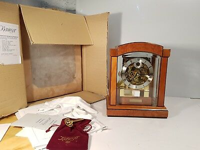 Rare Kieninger Art Deco Musical Triple Chime Westminster Chime Bracket Clock