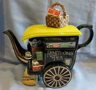 "CARDEW ""RINGTONS DELIVERY CART"" TEAPOT collectors tea pot L/Edition"