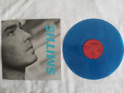 "THE SMITHS - PANIC German blue coloured vinyl Original Rare 12"" MINT/MINT 1986"