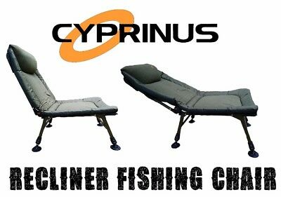 Cyprinus New XLR8 Extra Large Recliner adjustable Coarse Carp Fishing Chair seat