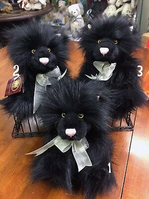 Are you looking for Charlie Bears Halloween Stella Black Cat? We can help! New!