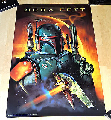 STAR WARS Boba Fett Poster - Insider exclusive - limited edition - rare