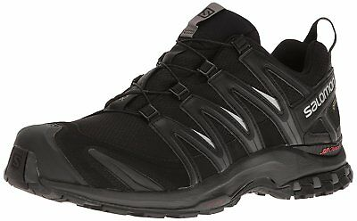 Salomon Mens XA Pro 3D GTX Trail Running Shoes, Black, Size 41 1/3