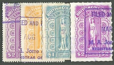 Canada Revenue Bcl53, Bcl5, Bcl59, Bcl60 Used