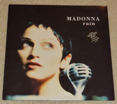 "MADONNA Rain UK 7"" VINYL SINGLE with Card P/S WO190 / 5439-18406-7 MINT!!"