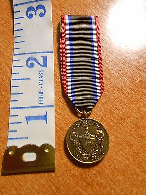 United States Army Cuban Pacification Mini Medal #1290