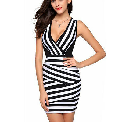 Fashion Women Summer Casual Sexy Club Sleeveless Elegant Mini Dress M30