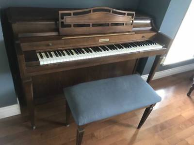 Baldwin Upright Piano One Owner NONE Smoking Home Vancouver see pix