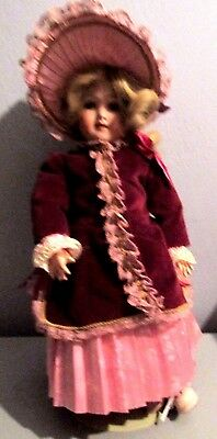 "Antique Armand Marseille Germany 390 A. 2. M Doll 17"" With Composition Body"