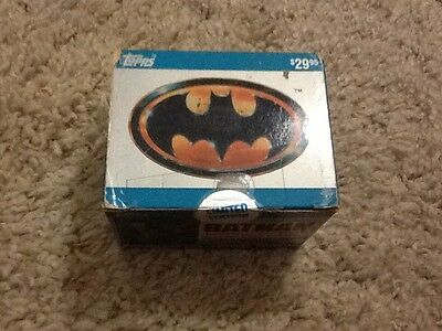 1989 Topps Batman Movie Cards Complete Collectors Edition 2Nd Series New