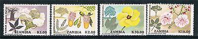 Zambia 1991 Flowering Trees SG 683/6 MNH