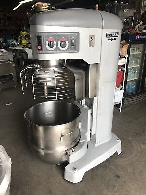 Hobart Mixer Legacy HL1400N Dough Mixer 140 Qt Bakery Equipment V1401 Mfg 2011