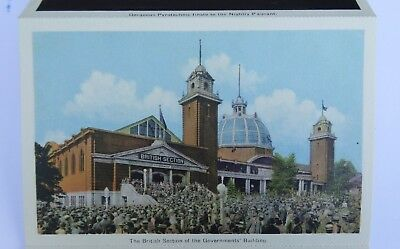 POSTCARD Booklet Story in Pictures Canadian National Exhibition Toronto 1930-40s