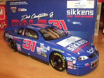 Dale Earnhardt Jr. #31 Sikkens Car Refinishes 1997 Chevy Monte Carlo 1/18 Scale
