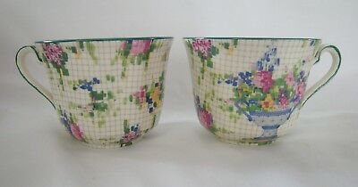 1930 ROYAL WINTON Chintz PELHAM  2 Orphan  Cup  NO SAUCERS