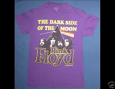 PINK FLOYD The Dark Side Of The Moon Size Small Purple T-Shirt