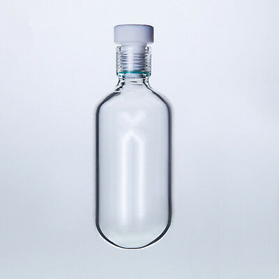 200ml Glass High Pressure Bottle,60*130 Heavy Wall Vessel With #15 PTFE Thred