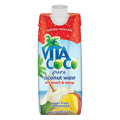Pure Coconut Water; Peach And Mango