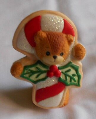 Lucy & Me Candy Cane Cookie Bear