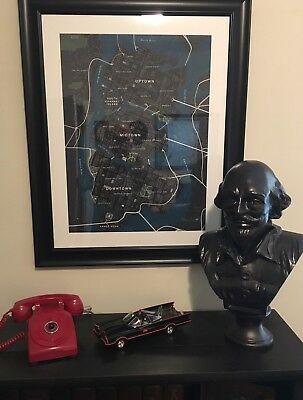 Custom Batman TV Series Shakespeare Head Bust With Working Switch And Lights