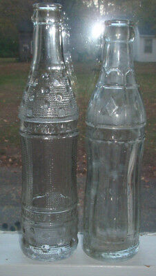 c1920 deco pop soda bottles ZEMANS BOTTLING Anamosa IOWA Supreme Fairfield Iowa