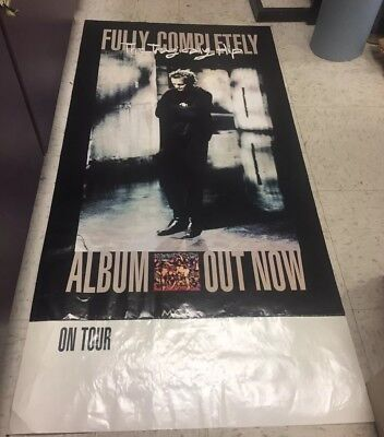 The Tragically Hip US promo poster 1993 Fully Completely rare Gord Downie