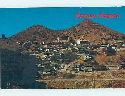 Pre-1980 PANORAMIC VIEW Jerome Arizona AZ hn5681