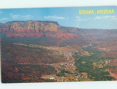 Unused Pre-1980 AERIAL VIEW Sedona Arizona AZ A4221