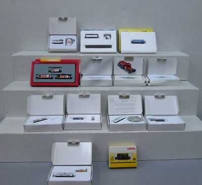 Marklin Z Scale Assorted Freight Cars (13)/Box