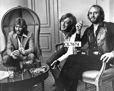 The Bee Gees: Maurice Gibb, Robin Gibb and Barry Gibb Photo