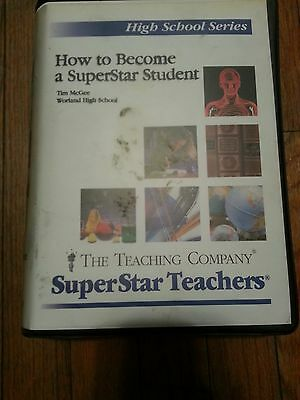 SuperStar High School Series: How to Become a Superstar Student VHS 2 Tape Set