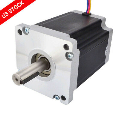 US Ship Nema 42 Stepper Motor 22Nm (3115oz.in) 6.0A 4 Wires CNC Router Kits