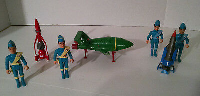 1992 Matchbox Gerry Anderson Thunderbirds 1 2 3 & 4 Vehicles Used