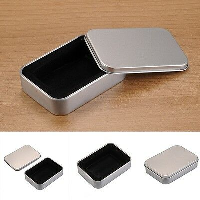 New Hot Metal Lighter Box Storage Cigarette Lighter Collectable Case For Zippo