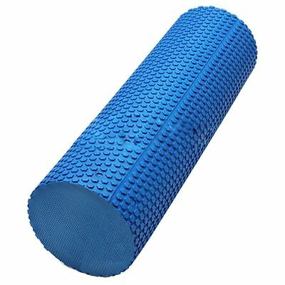Smooth Floating-Point Yoga Pilates Fitness Gym Exercise Foam Roller EVA Phy T9D1