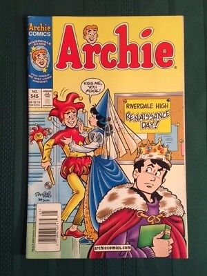 Archie #545 Riverdale High Renaissance Day!