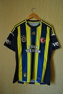 ADIDAS Fenerbahce 2012-2013 Home Shirt Jersey   Size M