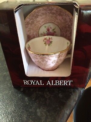 Royal Albert Tea Cup And Saucer New In Box