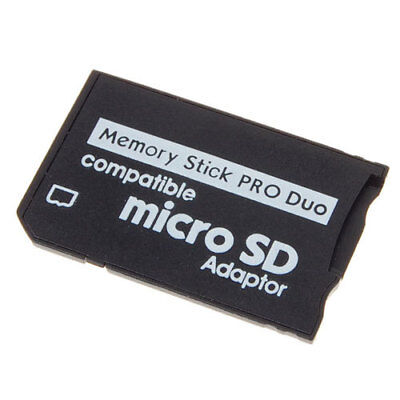 Memory Card Adapter TF to MS Memory Stick Pro Duo For PSP 8GB/16GB