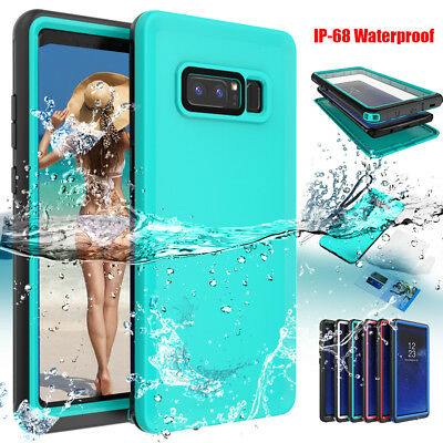 Slim Waterproof Shockproof Dirt Proof Full Case Cover F Samsung Galaxy Note 8 S9