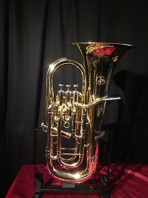 Jp Sterling 374S Silverplated 4v Compensating Euphonium