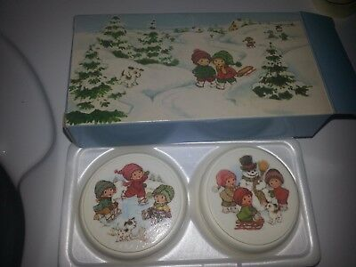 Vintage Avon Soap Set Winter Wonderland