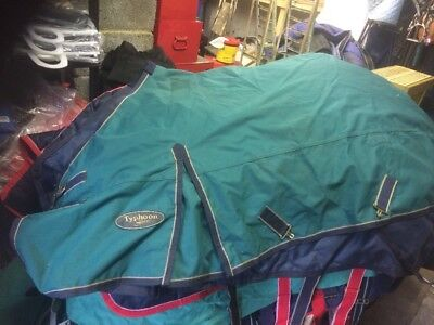 """Shires Typhoon Lightweight Turnout  Rug 6'0"""""""