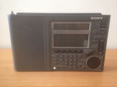 Sony ICF-SW77 Vintage Radio World Band Receiver Fm/am/mw/sw/lw