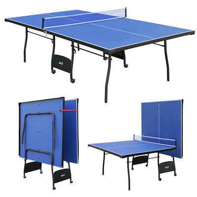 Outdoor Indoor Folding Table Tennis Table 9ft Professional Ping Pang Game Table